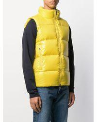 メンズ Pyrenex Loic ロゴ ジレ Yellow