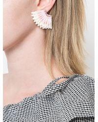 Mignonne Gavigan - Pink Wings Beaded Earrings - Lyst