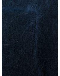 メンズ Prada ファジー靴下 Blue