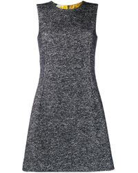 Трикотажное Платье Без Рукавов Dolce & Gabbana, цвет: Gray