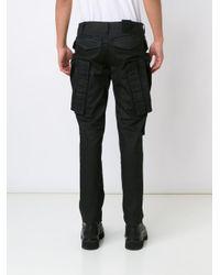 Julius - Black Multi Pocket Trousers for Men - Lyst