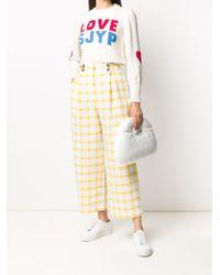 SJYP ロゴ プルオーバー Multicolor