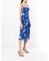 Vestido Tiffany con volantes Bronx and Banco de color Blue