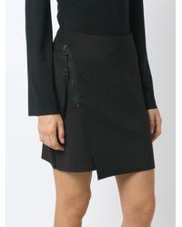 Osklen | Black Panelled Skirt | Lyst