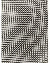 メンズ Dell'Oglio マイクロ パターン ネクタイ Gray