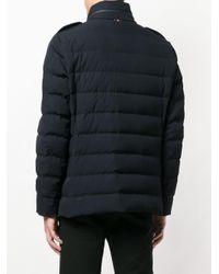 Veste multi-poches zippée Moncler pour homme en coloris Blue