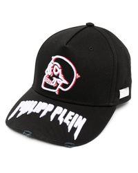 Cappello da baseball con ricamo di Philipp Plein in Black da Uomo
