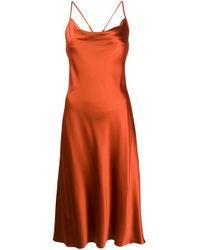 Vestito midi di ANDAMANE in Orange