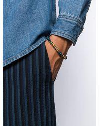 メンズ Gas Bijoux Leone ブレスレット Blue