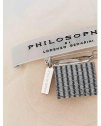 Брошь В Виде Цветка Philosophy Di Lorenzo Serafini, цвет: Multicolor