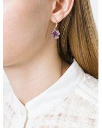 Aurelie Bidermann - Multicolor 'clover' Sapphire Earring - Lyst