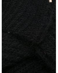 Marni ニットスカーフ Black