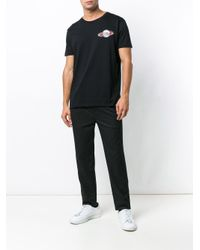 Karl Lagerfeld Black Karl Space Patch T-shirt for men