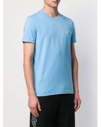 メンズ Dolce & Gabbana エンブロイダリー Tシャツ Blue