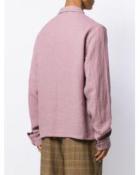 メンズ Nanushka Studio シャツジャケット Pink
