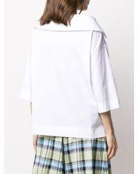 Antonio Marras オープンカラー シャツ White