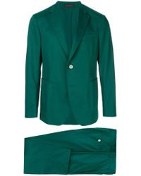 The Gigi Green Relaxed Fit Two Piece Suit for men