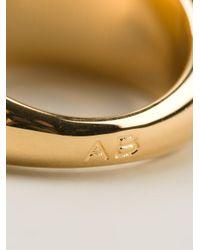 Aurelie Bidermann Metallic 'positano' Ring