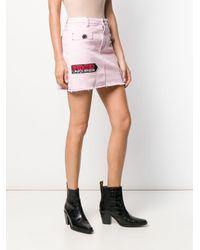 Pinko デニム ミニスカート Pink