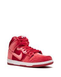 メンズ Nike Dunk High Premium Sb スニーカー Red