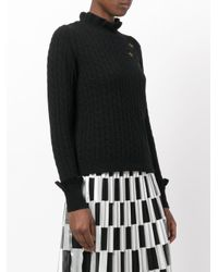 RED Valentino - Black Stars Jumper - Lyst