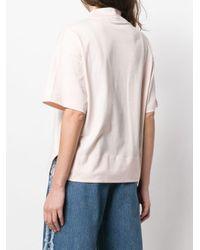Acne モックネック Tシャツ Pink