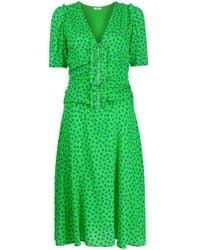 P.A.R.O.S.H. ハートプリント ドレス Green