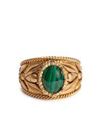Декорированное Кольцо Dolce & Gabbana для него, цвет: Metallic