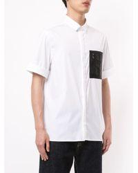 T-shirt con taschino sul petto di Neil Barrett in White da Uomo