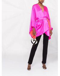 Maria Lucia Hohan Flamingo カフタン Pink
