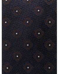 Жаккардовый Галстук С Цветочным Узором Dell'Oglio для него, цвет: Blue