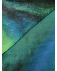 Discord Yohji Yamamoto Green Schal mit Schmetterlingen
