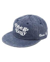 Cappello da baseball con ricamo di Vans in Blue