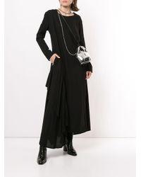 Vestito a maniche lunghe di Yohji Yamamoto in Black