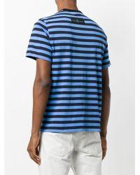 Golden Goose Deluxe Brand Black Striped T-shirt for men