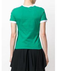 RED Valentino Green Dragonfly Logo T-shirt