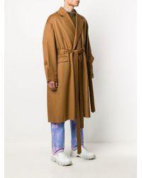ADER ERROR オーバーサイズ コート Multicolor