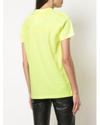 Helmut Lang ロゴ Tシャツ Yellow