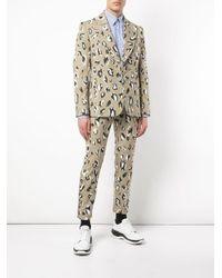 メンズ CHARLES JEFFREY LOVERBOY Teddy ストレートパンツ Multicolor