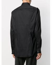 メンズ BOSS ポインテッドカラー シャツ Black