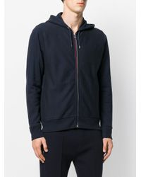 PS by Paul Smith | Blue Hooded Sweatshirt for Men | Lyst