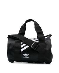 Adidas ロゴ ハンドバッグ Black