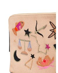 Lizzie Fortunato - Black Patch Clutch Bag - Lyst