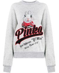 Джемпер С Логотипом Pinko, цвет: Gray