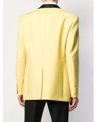 メンズ CALVIN KLEIN 205W39NYC タキシードジャケット Yellow