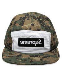 CDG Shirt Camp Cap Supreme pour homme en coloris Green