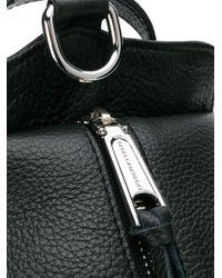 Rebecca Minkoff - Black Zipped Backpack - Lyst