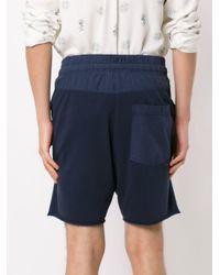 Osklen Blue Shorts With Front Pockets for men