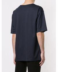 メンズ Loveless チェストポケット Tシャツ Blue
