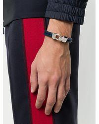 Northskull - Blue Hook Link Bracelet for Men - Lyst
